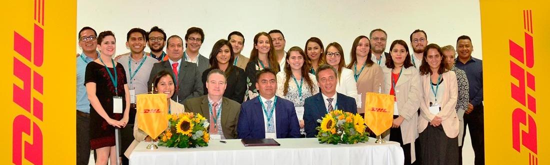 DHL firma convenio de colaboración con Enseña por México