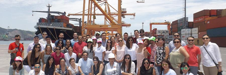 Visita NYK instalaciones de Contecon Manzanillo